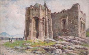 TUCK #3021, The Scottish National War Memorial, EDINBURGH Castle, Scotland, U...