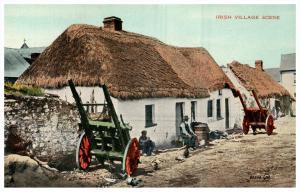 15103   Ireland  1910  irish Village Scene