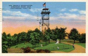 TN - Chattanooga. Missionary Ridge, Gen. Bragg's Headquarters