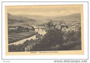 Vue Prise du Herrenberg, Diekirch, Luxembourg, 1900-10s