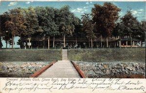 Crescent Athletic Club, Shore Road, Bay Ridge, Brooklyn, N.Y., 1908 Postcard