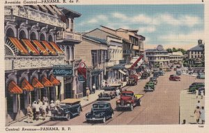 PANAMA, 1930-1940s; Central Avenue
