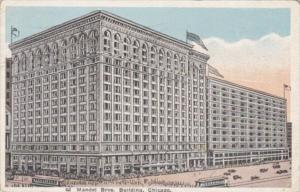 Illinois Chicago Mandel Brothers Department Store 1921