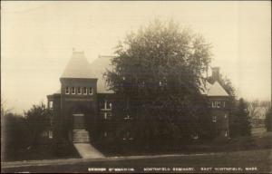 East Northfield MA Seminary c1910 Real Photo Postcard #3