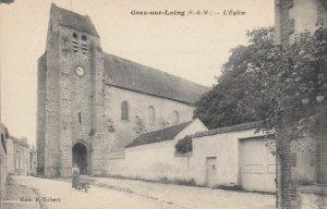 GREZ-SUR-LOING (S.-&-M.) , France , 00-10s ; L'eglise