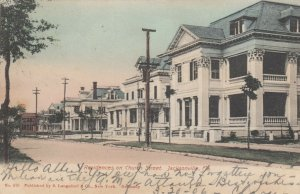 JACKSONVILLE, Florida, PU-1906 ; Homes on Church Street