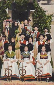 Elsassische Bauren-Spinnstube , Germany now France , 00-10s