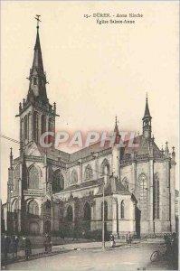 Postcard Old DUREN Eglise Sainte Anne