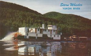 Alaska Stern Wheeler On The Yukon River