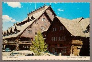 Old Faithful Inn, Yellowstone National Park Postcard