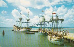 Virginia Jamestown The Three Ships