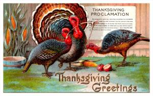5254  Thanksgiving,  Procclamation