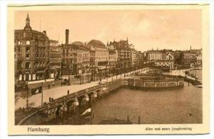 Alter Und Neuer Jungfernstieg, Hamburg, Germany, 1900-1910s