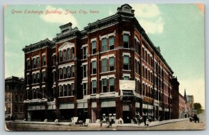 Sioux City Iowa~Grain Exchange Building~Offices & Stores for Rent~Bicycles~c1910