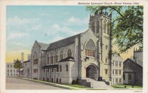 MOUNT VERNON, Ohio, 1930-1940's; Methodist Episcopal Church