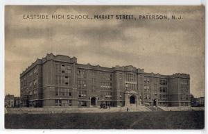 Eastside High School, Market St, Paterson NJ