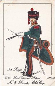 Chasseurs A Cheval Polish Private Elite 5th Regiment Soldier Napoleonic War P...