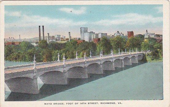 Mayo Bridge Foot Of 14th Street Richmond Virginia
