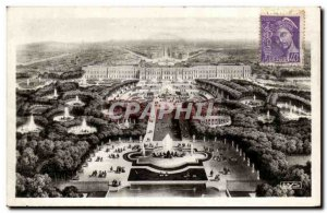Postcard Old Versailles Panorama