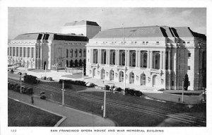 San Francisco Opera House & War Memorial Building San Francisco, California, ...