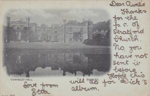 BURNLEY, Lancashire, England, PU-1903; Towneley Hall