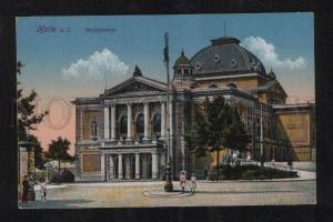 059152 GERMANY  Halle a.S. Stadttheater  Vintage PC