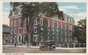 BEVERLY , Massachusetts, 1921 ; City Hall