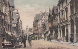 CHESTER , England , 1900-10s ; Eastgate Street
