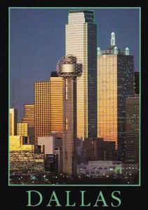 Downtown Skyline Dallas Texas