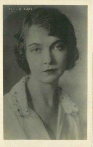 Dorothy Gish Silent Movie Actress Interior 1920s RPPC Photo Postcard 12836