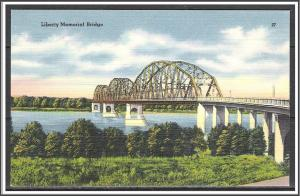 North Dakota, Bismark Liberty Memorial Bridge - [ND-004]