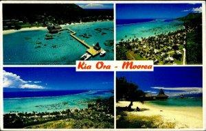 CE0852 tahiti french polynesia moorea sofitel kia ora hotel pacific ocean