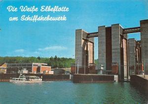 Lauenburg Reederei Weisse Elbeflotte Schiffshebewerk Scharnebeck