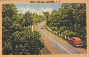 New York Ossining State Highway Scene