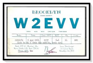 New York, Brooklyn QSL Ham Radio - (MX-014)