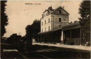 CPA AK TOURNUS - La Gare (438068)