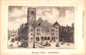 Nieurve Beurs Amsterdam Holland Unused