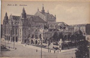 Germany Koeln Opernhaus