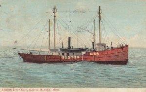 Boston LIGHTSHIP , BOSTON , Mass. , 1908
