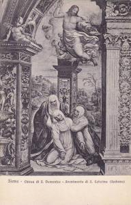 Chiesa Di S. Domenico, Svenimento Di S. Caterina (Sodoma), Siena (Tuscany), I...