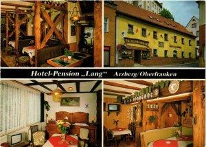CPA AK Arzberg - Hotel-Pension Lang - Modern Pc. GERMANY (965441)