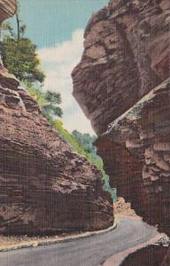 Colorado Manitou Springs Narrows In Williams Canon Curteich