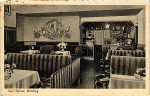 CPA Nürnberg Café Roland Bretiegasse 30 GERMANY (671065)