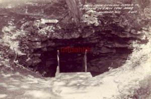 17 MILES FROM RICHLAND CENTER TO ENTRANCE OF EAGLE CAVE NEAR MUSCODA, WI RPPC