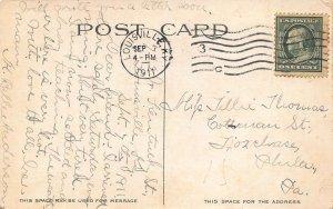 LOUISVILLE KY~RIPPLES IN CHEROKEE PARK~1911 POSTMARK POSTCARD