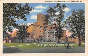 Washington County Hospital Hagerstown MD Unused