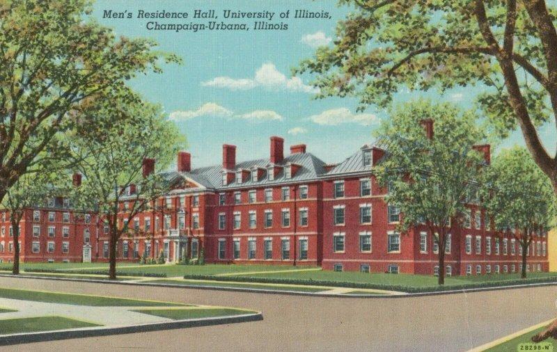 CHAMPAIGN-Urbana , Illinois , 1930-40s ; Men's Residence