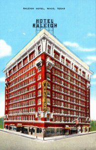 Texas Waco Aerial Hotel Raleigh