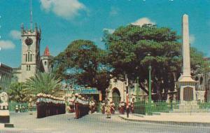 War Memorial, Trafalgar Square, Barbados, British West Indies, 40-60s