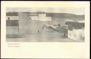 yemen, PERIM ISLAND, Ile de Perim, Panorama (ca. 1899)